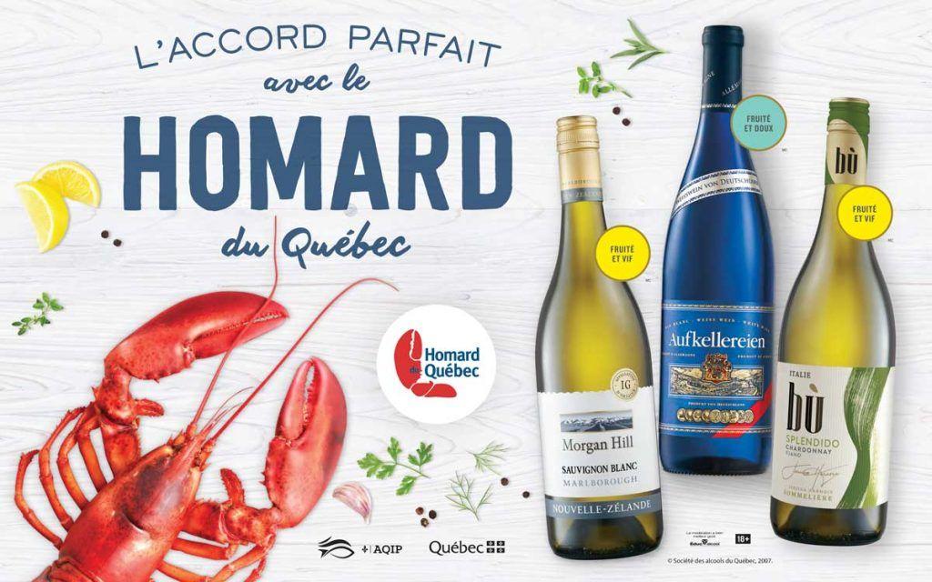 Promo Accord Vin et Homard du Québec