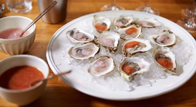 Mignonettes pour les huîtres sur Cuisinez Télé Québec
