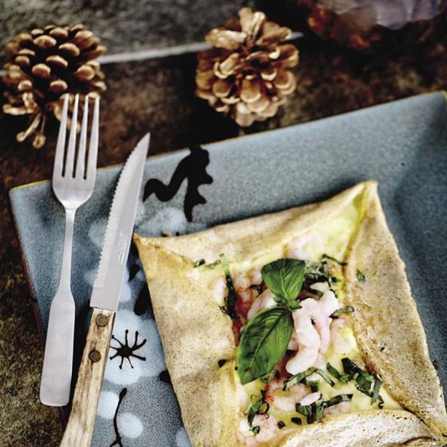 crepes sarrasin crevettes