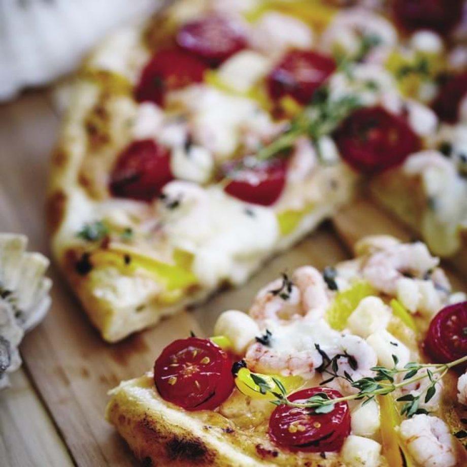 pizza aux fruits de mer cuisinez télé québec